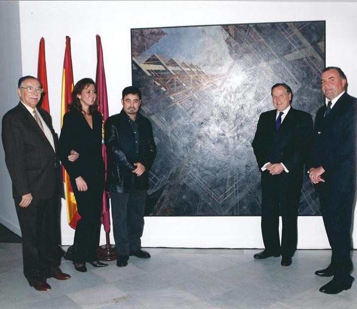 Con el Alcalde de Madrid
