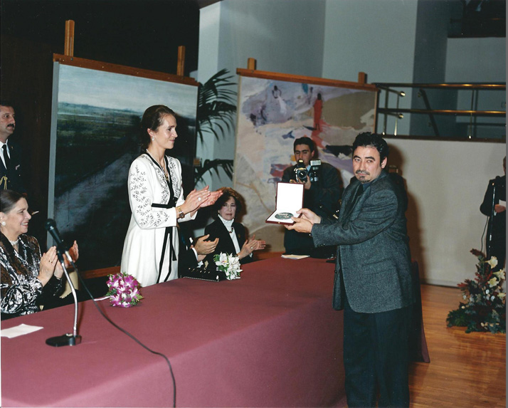 Medalla de honor BMW de Pintura 2001