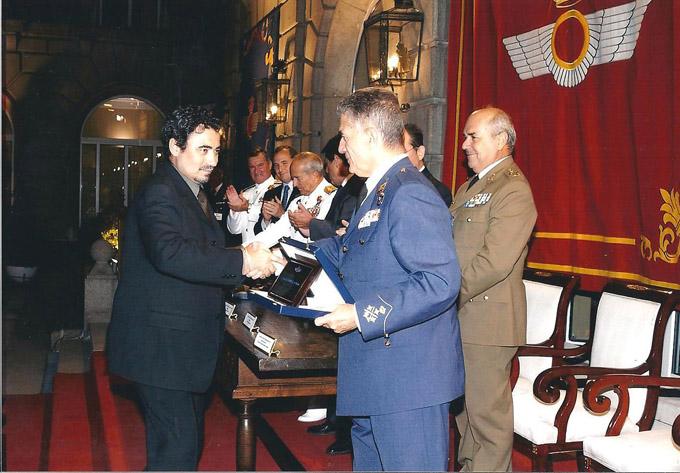 Segundo premio concurso de pintura del Ejercito del Aire 2003
